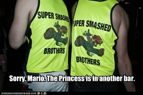 bros,g rated,princess is in another ca,princess is in another castle,Super Mario bros,super smashed brothers