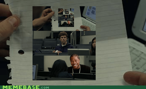 facebook,Inception,note,yo dawg,zuckerberg