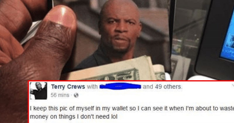 terry crews on social media