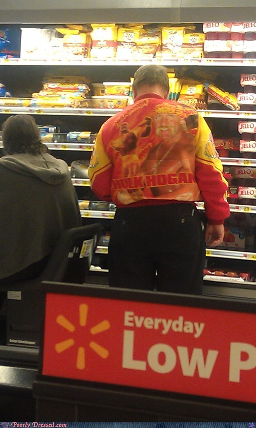 Hulk Hogan jackets Walmart wrestlers - 5580446976