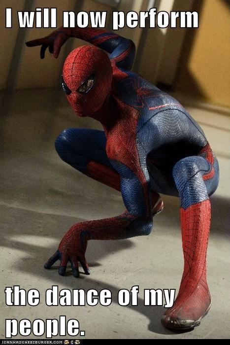 andrew garfield dance Spider-Man spidey - 5580704256