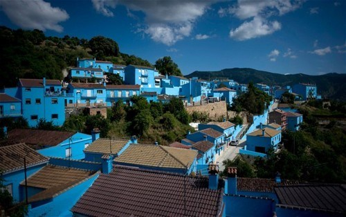 IRL Smurfs,Júzcar,Spain,The Smurfs 3D