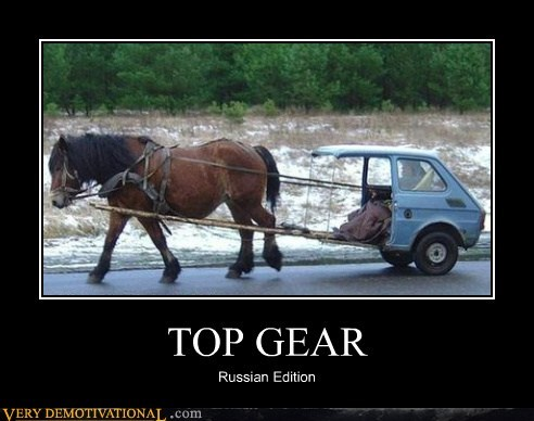 hilarious russia top gear TV - 5581513728