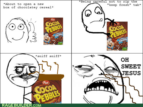 cereal,me gusta,Rage Comics,smell,sweet jesus have mercy