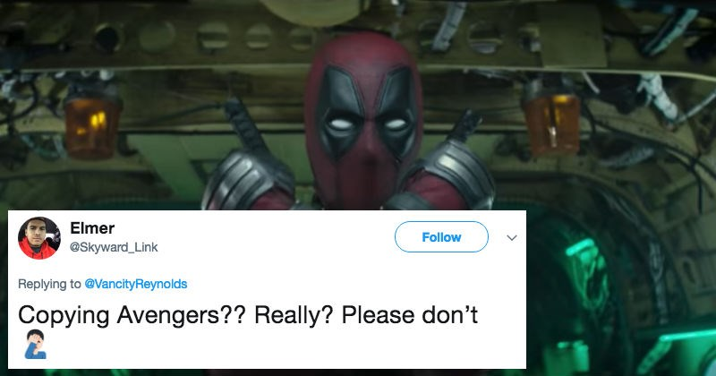 deadpool trolling banter roast superheroes ryan reynolds funny - 5582597