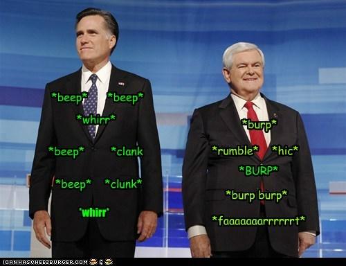 Mitt Romney newt gingrich political pictures - 5582697984