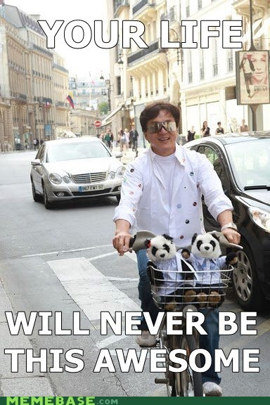 awesome basket Jackie Chan life Memes panda - 5582857984