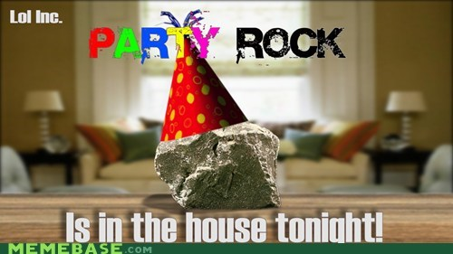 house Lame Pun Coon Party rock - 5583207424