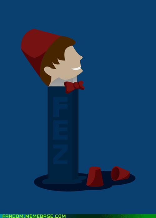 11th Doctor,doctor who,Fan Art,FEZ,pez