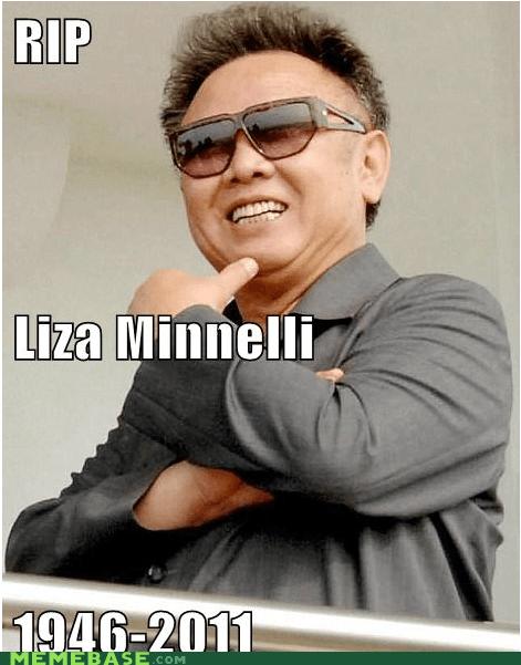 Kim Jong-Il korea Liza Minnelli Memes prince - 5583362048