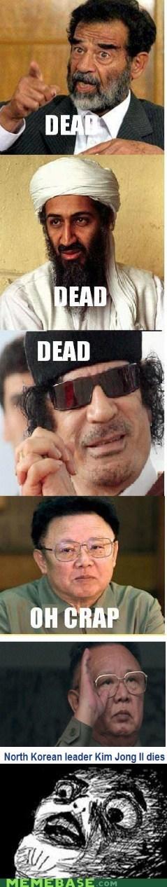 dead,dictator,Kim Jong-Il,osama,raisins-super-fuuuu