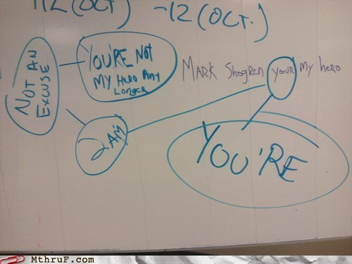 correcting your vs youre - 5583718656
