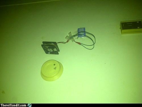 computer fan,fan,smoke detector