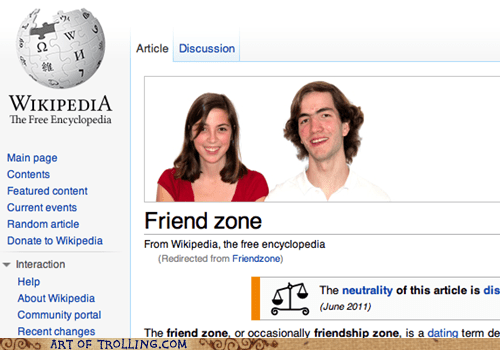 friend zone Sad wiki appeal wikipedia - 5584392960