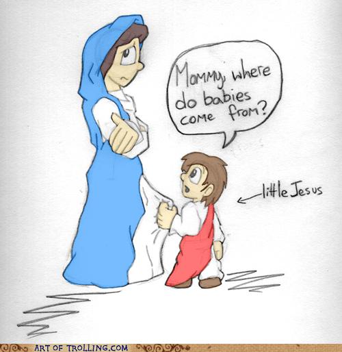 Babies Awkward jesus - 5584422144
