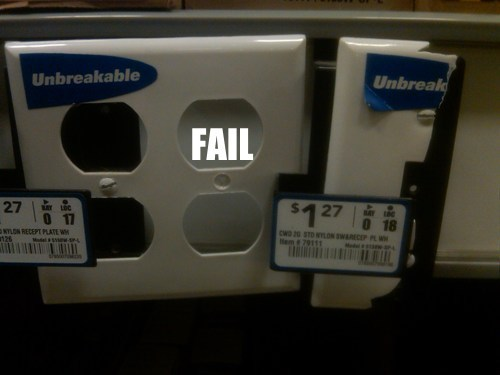irony outlet product fail - 5584726784