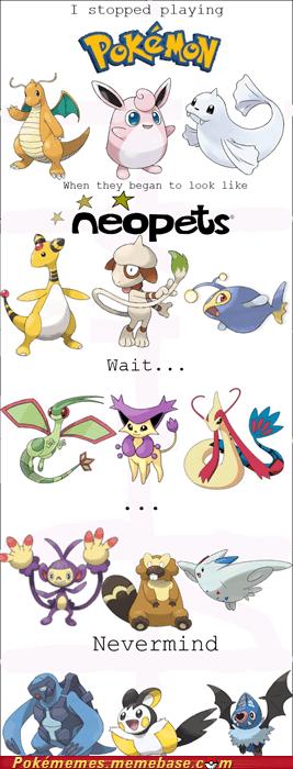 Memes neopets nevermind Pokémon wait what - 5584769024