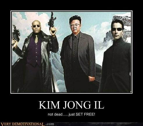 dead,hilarious,Kim Jong-Il,matrix