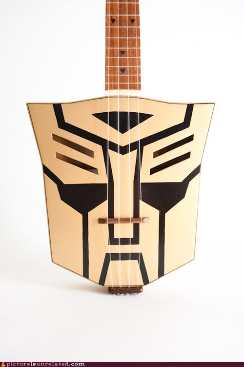 autobots guitar transformers wtf - 5585918720