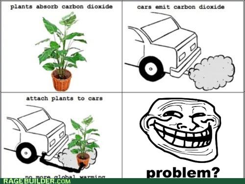 plants global warming troll science - 5586168320