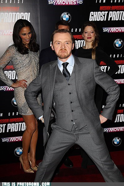 awesome,best of week,celeb,Celebrity Edition,mission impossible,Simon Pegg,Tom Cruise