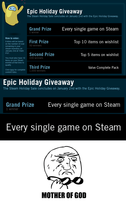 gaming,giveaway,Nerd News,raffle,steam,video games,win every steam game