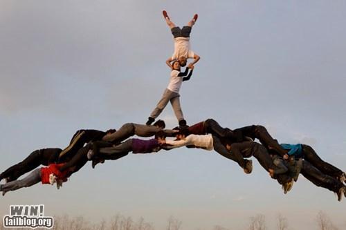 acrobatics bridge not shopped photography stunt - 5586589952