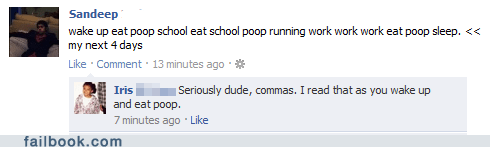 commas,grammar,not what it sounds like,your friends are laughing at you