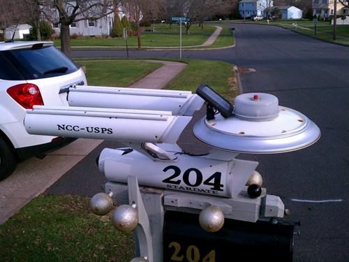 enterprise,mailbox,Star Trek,tv shows