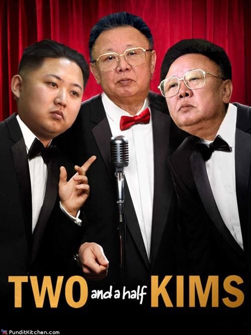 Kim Jong-Il photoshopped TV - 5587060224