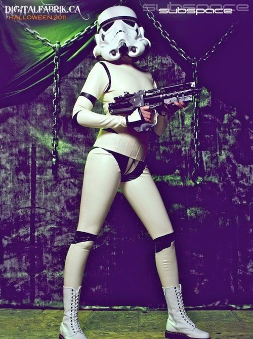 catsuit,cosplay,latex,movies,sexy,star wars,stormtrooper