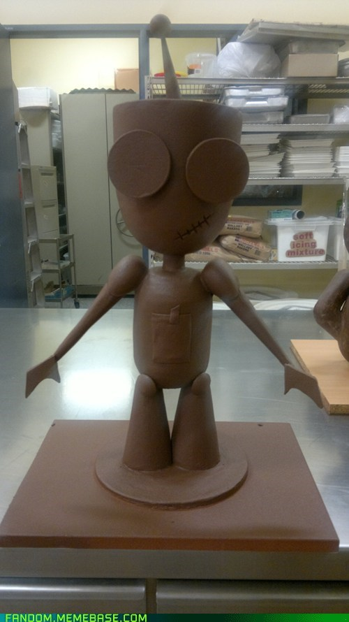 chocolate Fan Art GIR Invader Zim - 5587154176