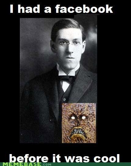 evil facebook hipster-disney-friends lovecraft - 5587228672