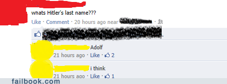 facepalm hitler name really