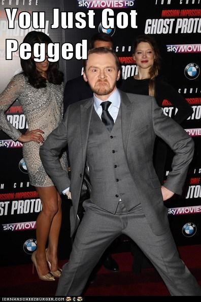 actor celeb funny mission impossible Movie Simon Pegg - 5587543808
