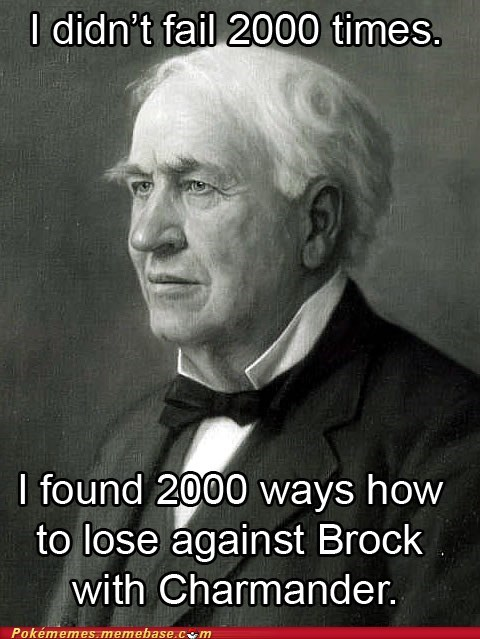 brock charmander failure fire starter jonas salk Memes polio vaccine - 5587676928