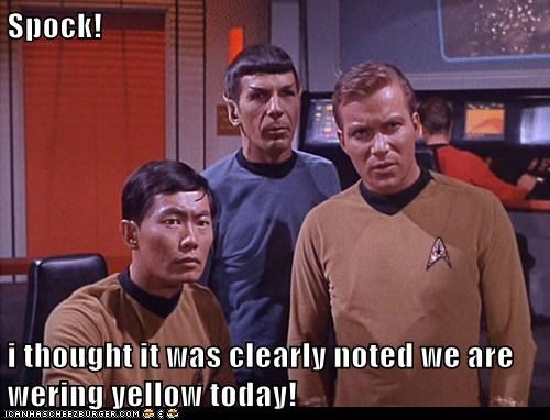 Captain Kirk,george takei,Leonard Nimoy,Shatnerday,shirts,Spock,Star Trek,sulu,William Shatner
