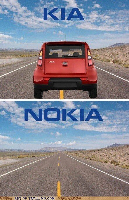car,kia,nokia,phone