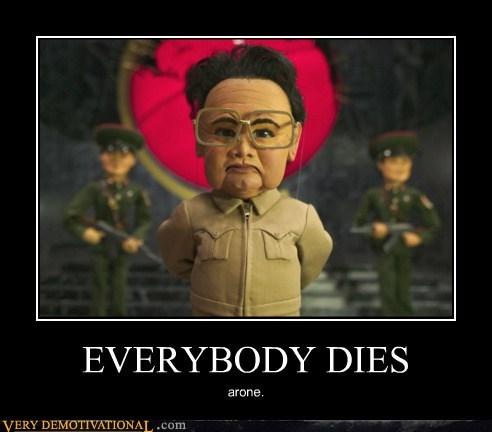 dies hilarious Kim Jong-Il Sad - 5587934208