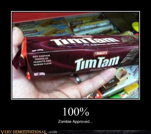 hilarious human flesh snacks wtf zombie