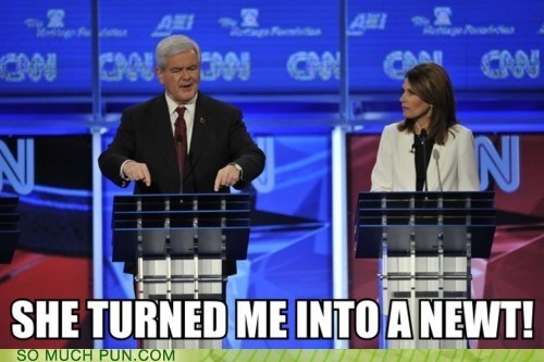 GOP Hall of Fame michelle bachmann monty python monty python and the holy grail newt gingrich quote republican debates Republicans - 5588254976