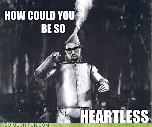 double meaning Hall of Fame heartless kanye west lyric song the wizard of oz tin woodman tinman - 5588278784