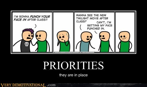 cyanide and happiness,hilarious,priorities,twilight