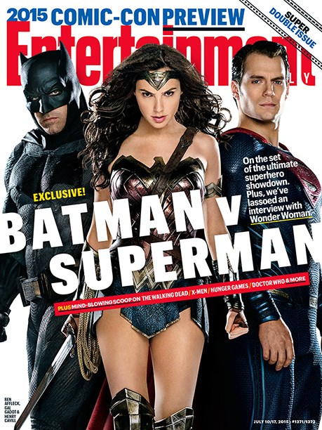 behind the scenes,Batman v Superman,Entertainment weekly