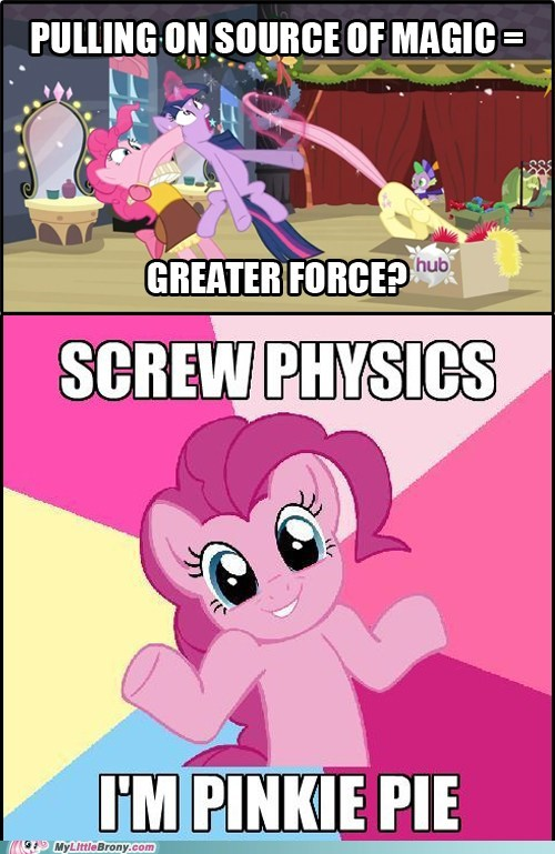 comics magic physics pinkie pie song source of magic - 5588742144