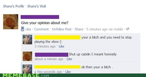 facebook honesty opinions ouch - 5588964096