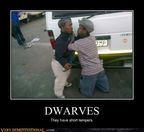 dwavers fight hilarious midgets temper - 5589013504