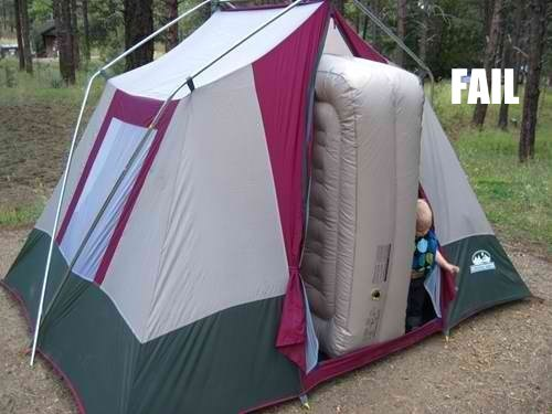 camping outdoors parenting tent funny - 5589301248