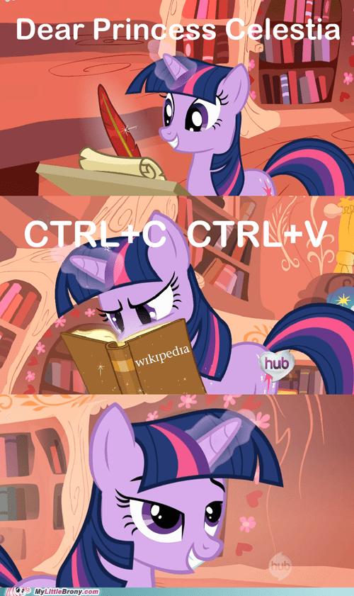 comics,ctrl c,princess celestia,spell of knowledge,wikipedia