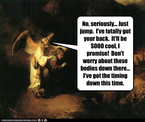 angel art bad decision historic lols jump no painting temptation wtf - 5589978624